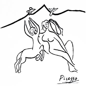 Centaur_by_Pablo_Picasso