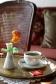 Glorious Peleys Castle Hotel Interior Coffee Detail