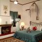 Glorious Peleys Castle Hotel Double Suite Fireplace