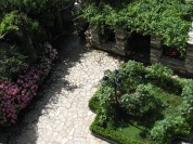 Glorious Peleys Castle Garden View